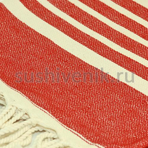 Пештемаль красный (SADE 5 CIZGILI)