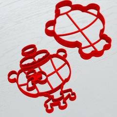 Самовар №2 форма для пряника