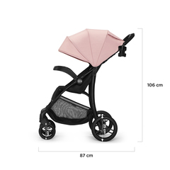 Коляска прогулочная Kinderkraft Cruiser Pink