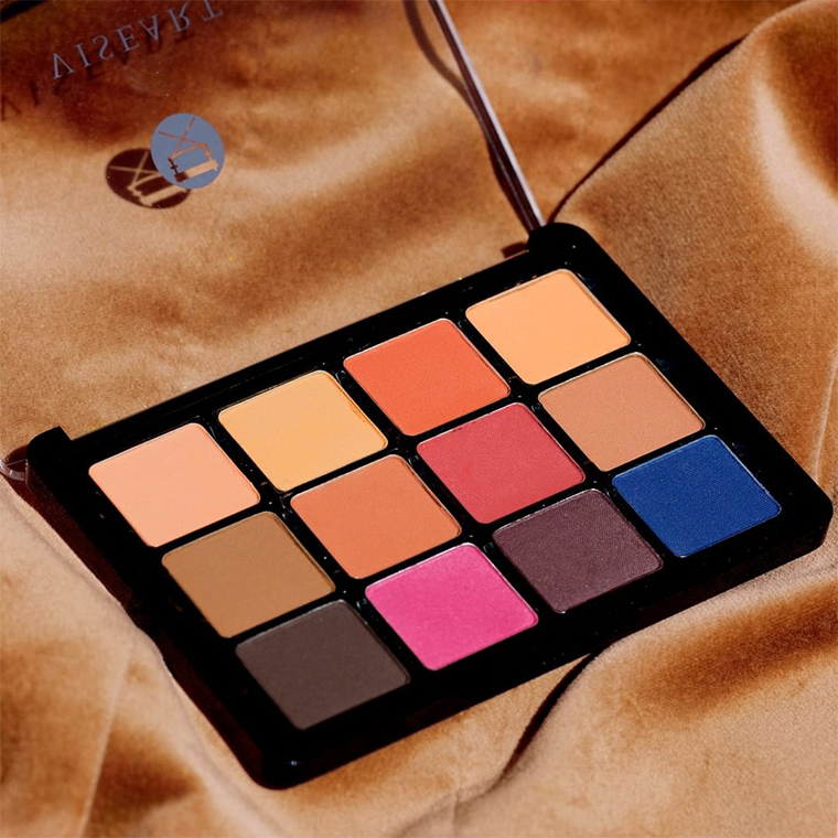 VISEART Eyeshadow Palette Matte Finish 02 Neutral Mattes Milieu