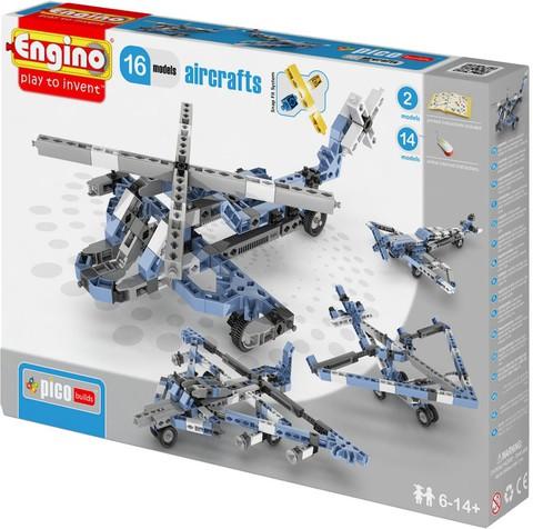 Engino Авиация - 16 моделей, серия Пико