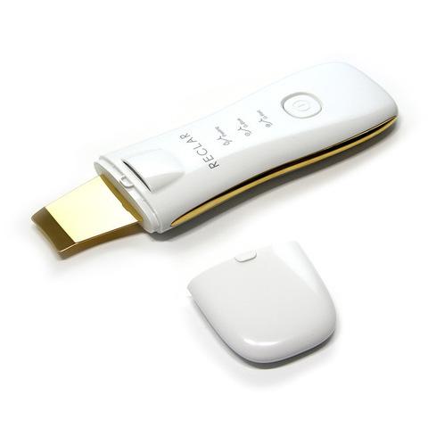 Аппарат для ультразвуковой чистки лица и гальванотерапии Reclar GOLD Galvanic Water Peeler
