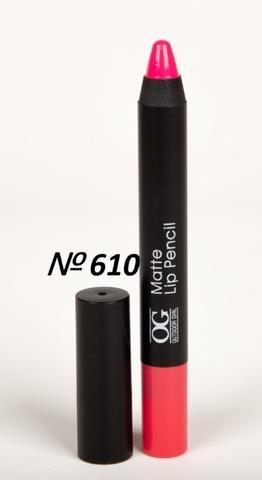 OG-FP3011B Помада-карандаш тон 610 барби МАТОВАЯ Matte Lip Pencil PRO