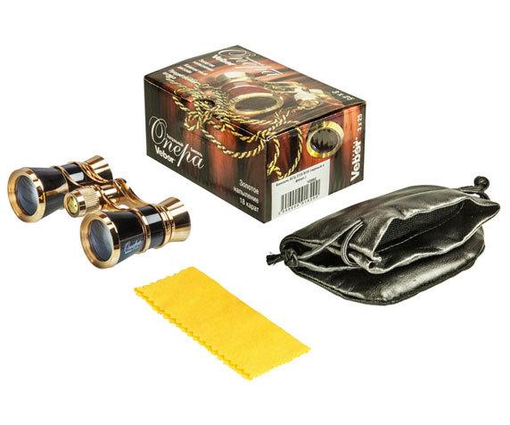 Бинокль Veber БГЦ 3x25 B10 черный - фото 4