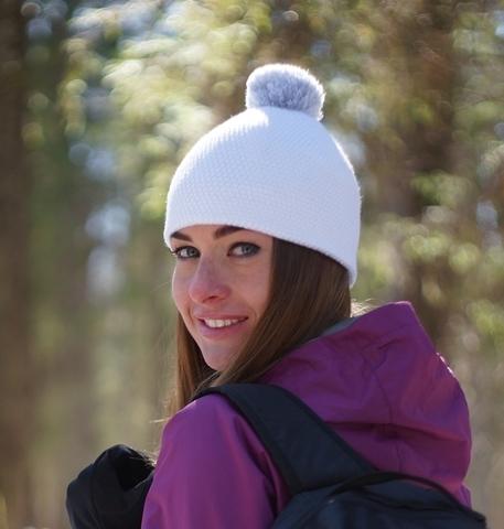 Лыжная шапка Nordski Knit белая