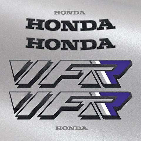 Набор виниловых наклеек на мотоцикл HONDA VFR 750 1990