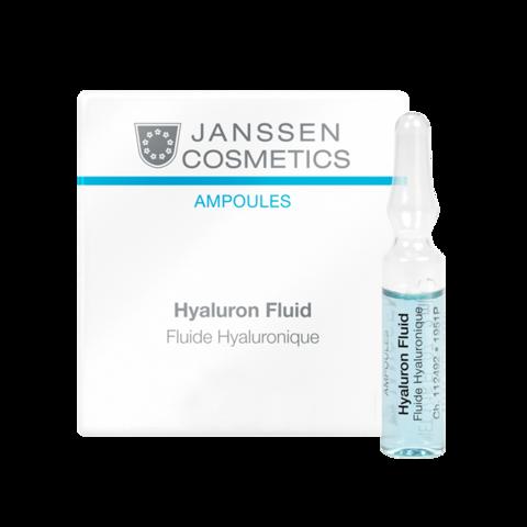 JANSSEN COSMETICS Ультраувлажняющая сыворотка с гиалуроновой кислотой | Hyaluron Fluid 3х2 ml