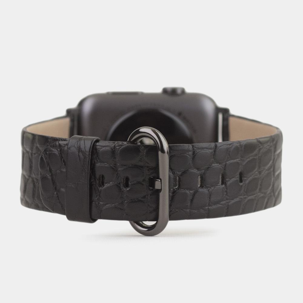 Band for AW 38/40mm — alligator black