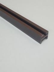 Верхняя направляющая для двери-гармошка, длина 260 см, цвет Венге