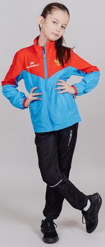 Детский беговой костюм Nordski Sport Red-Blue