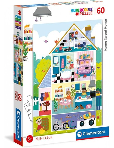 Puzzle PZL 60 HOME SWEET HOME