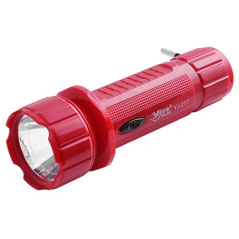 Ф.аккумуляторный ручной YJ-217 1led 1 режим