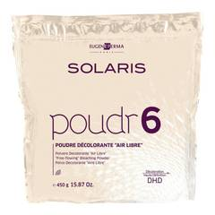 EUGENE PERMA солярис d.h.d пудра для осветления волос на открытом воздухе poudr 6, 450 гр