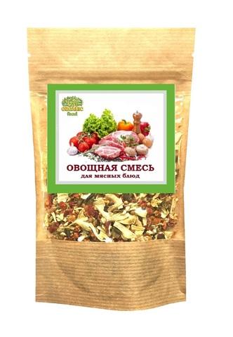 Овощная смесь для мясных блюд 'Organic food', 100г
