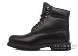 Ботинки Мужские Timberland 10061 Waterproof Black Leather