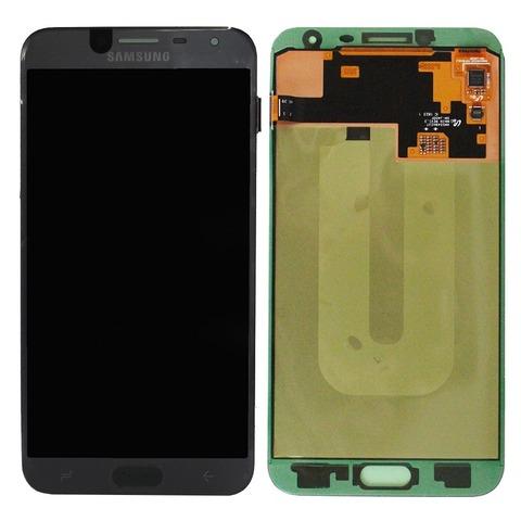LCD SAMSUNG J4 2018 J400F + Touch Black Orig MOQ:5