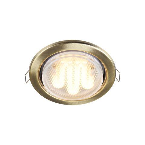 Встраиваемый светильник Maytoni Metal Modern DL293-01-BZ
