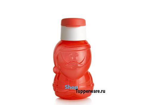 Бутылка Эко дед мороз рис.1