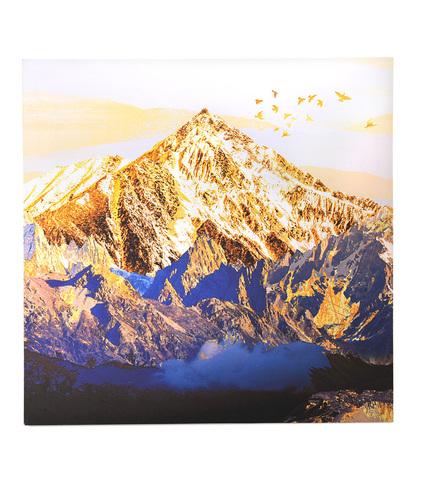 Золотая гора с птицами 40х80 см