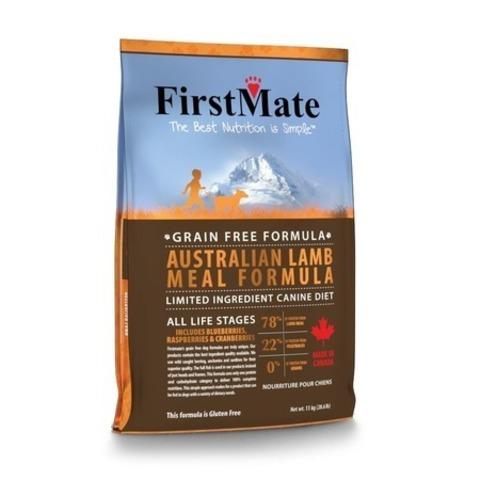 FirstMate Australian Lamb сухой беззерновой корм для взрослых собак всех пород с ягненком