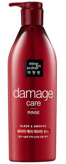 Mise En Scene Damage Care Rinse питательный кондиционер для поврежденных и окрашенных волос 680мл