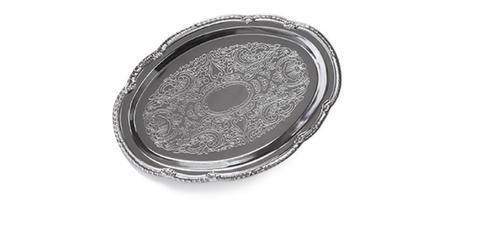 9420 FISSMAN Поднос 31х22 см, металл хромированный