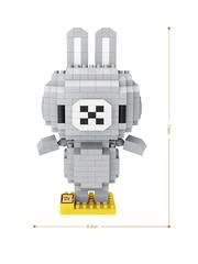 Конструктор LOZ Зодиак Стрелец Кролик 350 деталей NO. 9563 Sagittarius Rabbit Zodiac Sign Series