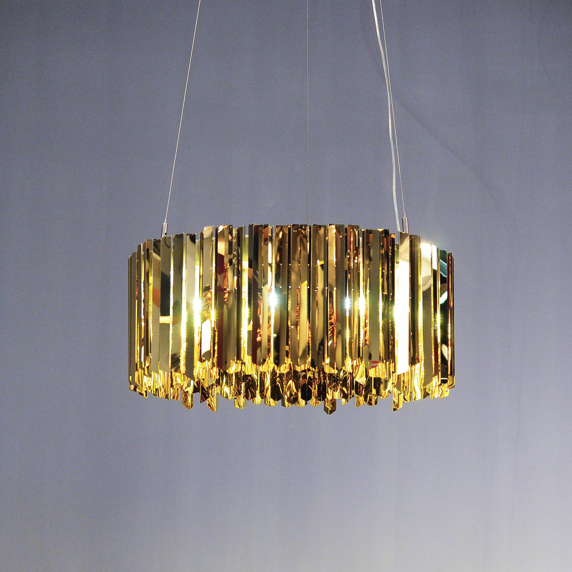 Подвесной светильник копия Tom Kirk Facet by Innermost D80 (золотой)
