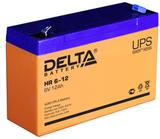 Аккумулятор Delta HR 6-12 ( 6V 12Ah / 6В 12Ач ) - фотография