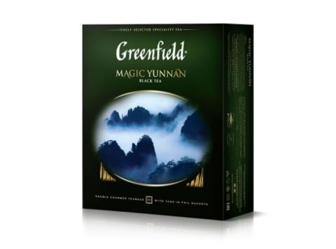 Чай черный Гринфилд Magic Yunnan в пакетиках (100 шт)
