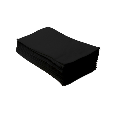 Полотенце 35х70 Спанлейс 40г/м2 non stop 50 шт (цвет: черный)