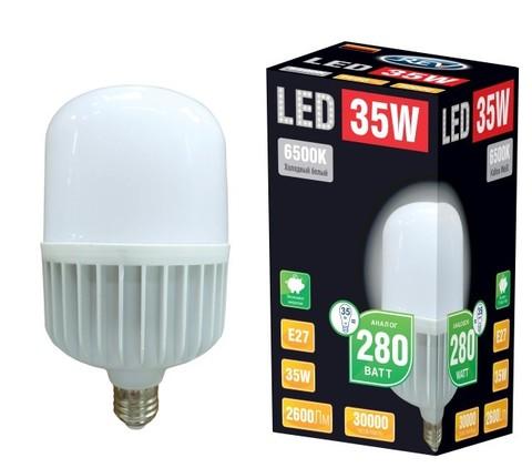 Лампа сд T120 E27 35W,6500К,дневной свет