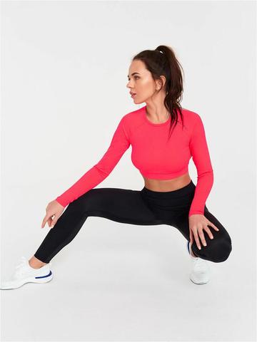Рашгард жен. для йоги и фитнеса с перфорацией