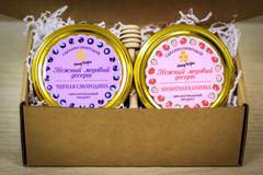 Подарочный набор HoneyForYou с медом-суфле