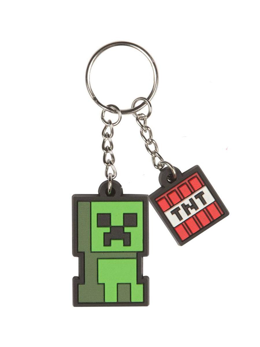 Брелок Minecraft Creeper Sprite
