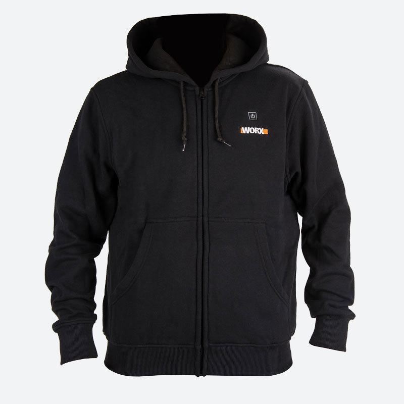 Куртка с подогревом Worx WA4660 4XL черная
