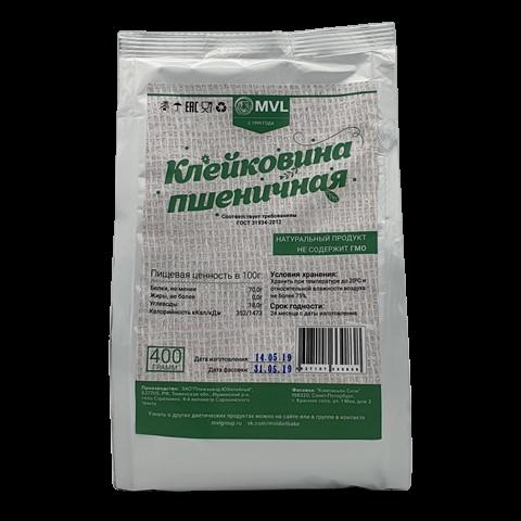Клейковина пшеничная MVL, 400 гр