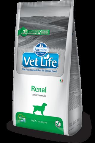 Сухой ветеринарный корм Farmina Vet Life Dog Renal