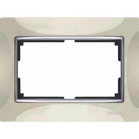Werkel Рамка WL03-Frame-01-DBL слоновая кость basic
