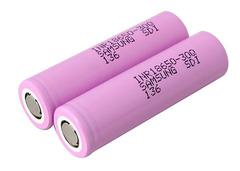 Аккумуляторы 18650 Samsung INR18650-30Q 3000mAh, (высокотоковый)