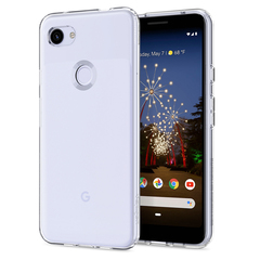 Чехол Spigen Liquid Crystal для Google Pixel 3A (Прозрачный)