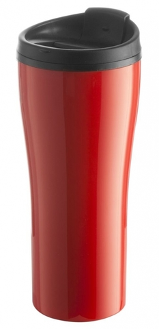 Maybole Travel Mug, red