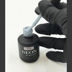 NEON, гель-лак Ash Blue №035 , (12 ml) пепельно-голубой