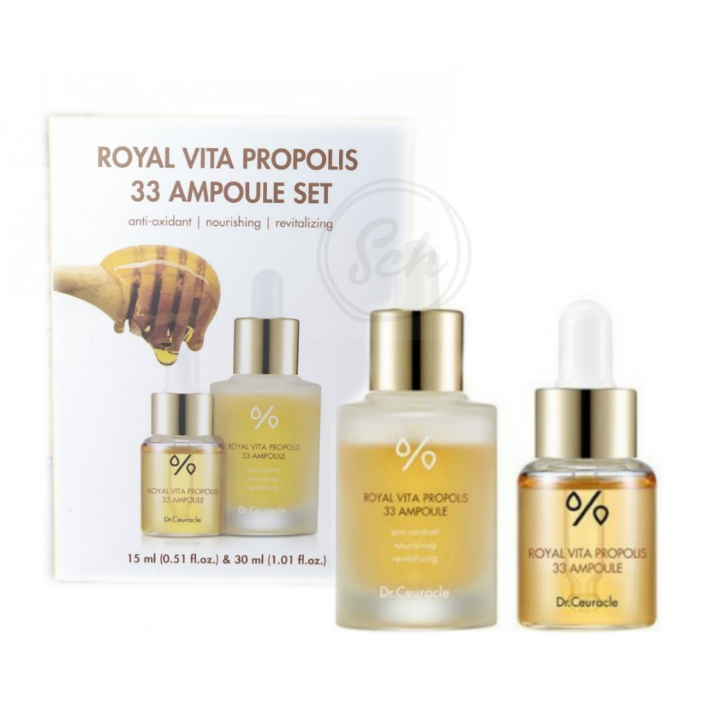 Набор Dr.Ceuracle Royal Vita Propolis 33 Ampoule Set 15 мл*30 мл