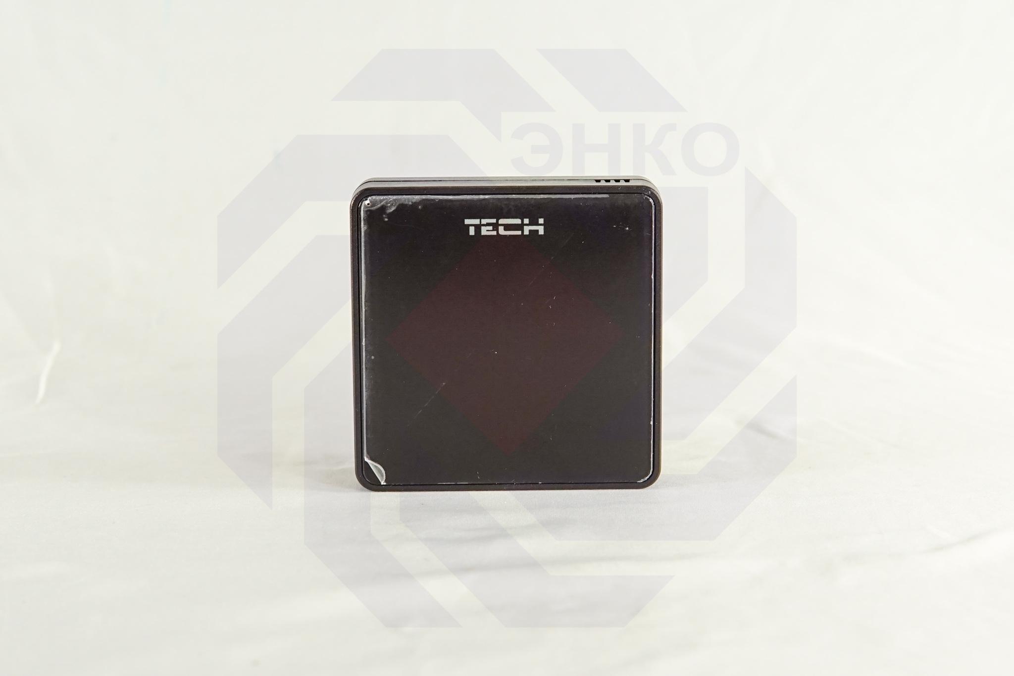 Датчик температуры пола TECH STEROWNIKI ST-C-8F черный