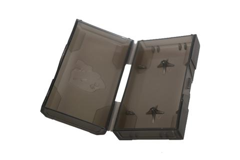 Кейс Chibby Gorilla для двух 18650 чёрный