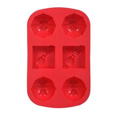 Форма из силикона «Подарки» 27,5х17,5х3 см, 6 ячеек