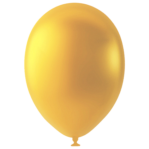 Шар Золото Металлик, 30 см