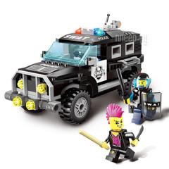 Конструктор серия Город Полицейский Джип