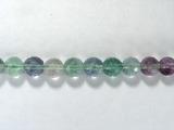 Бусина из флюорита зеленого, фигурная, шар граненый 8мм